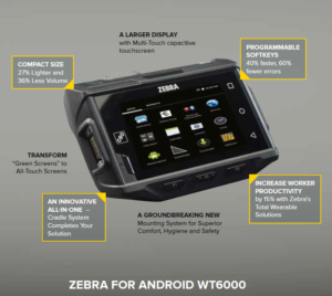 2e3d661959 WT6000 Wearable Computer  Android in Warehouse
